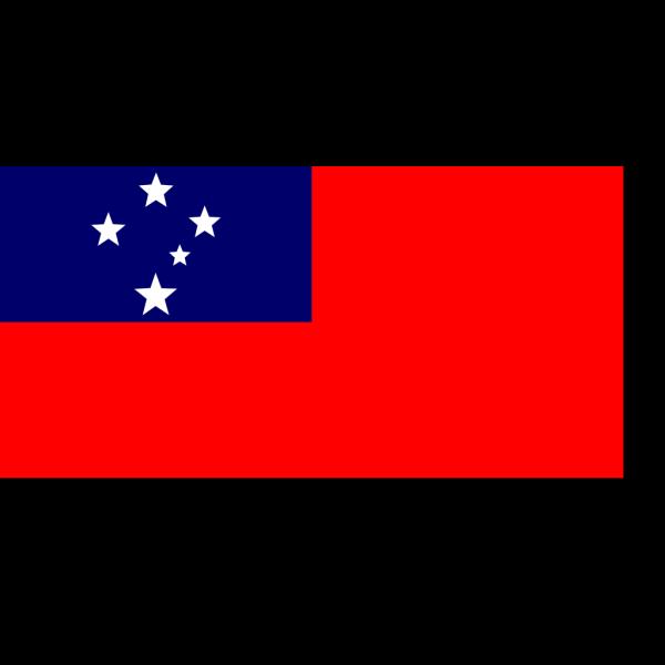 Flag Of Samoa PNG Clip art