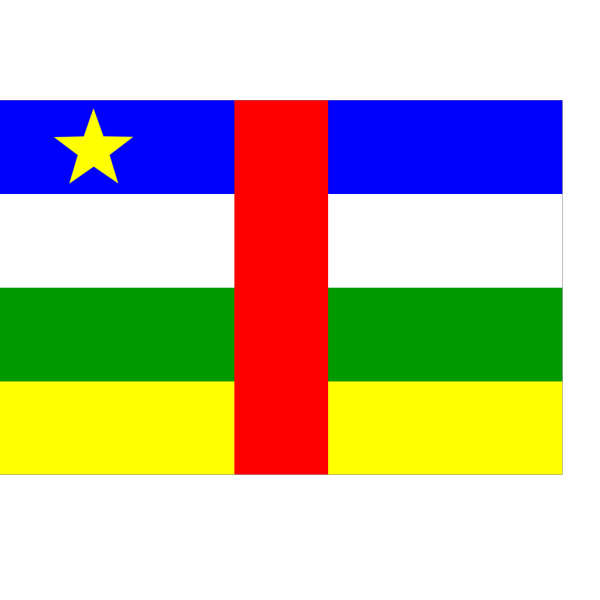 Flag Of Central African Republic PNG Clip art
