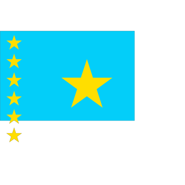 Historic Flag Of The Republic Of Congo PNG Clip art