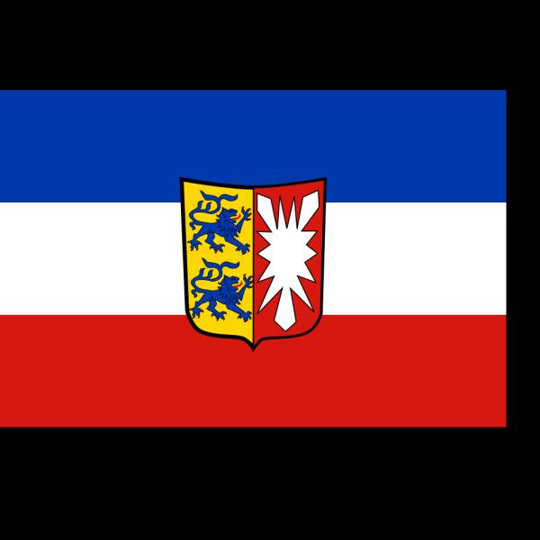 Flag Of Schleswig Holstein PNG Clip art
