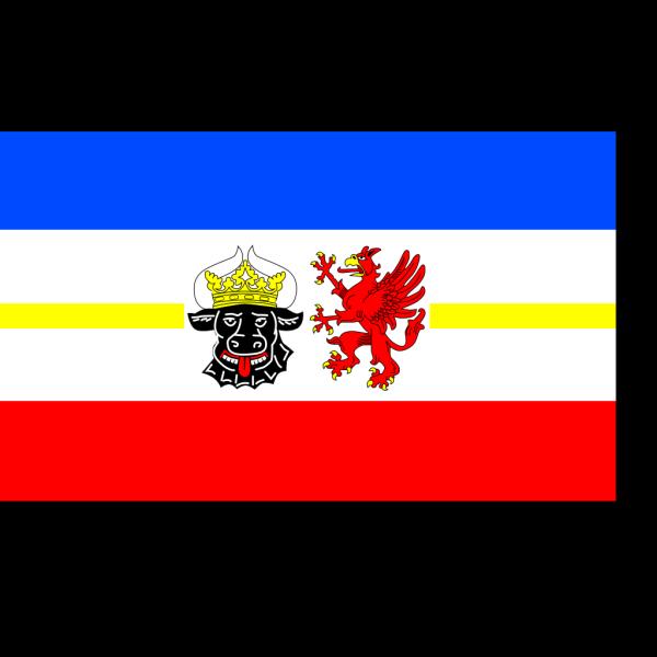 Flag Of Mecklenburg Vorpommern PNG Clip art