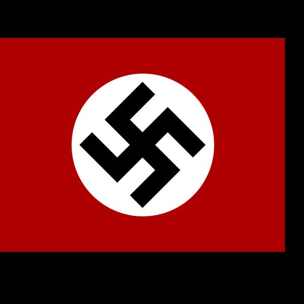 Historic Nazi Flag PNG Clip art