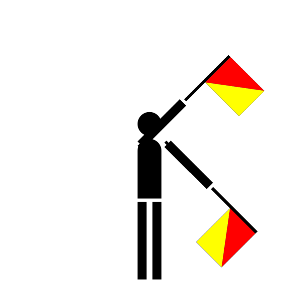 Semaphore Xray PNG Clip art