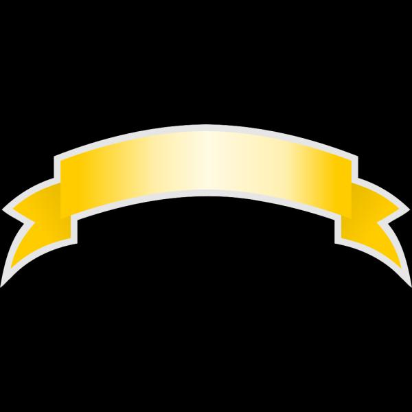 Blank Gold Ribbon PNG Clip art