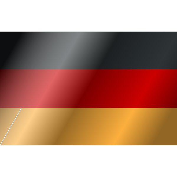 Flag Of Germany In The Wind PNG Clip art