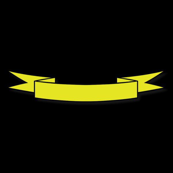 Yellow Banner PNG Clip art
