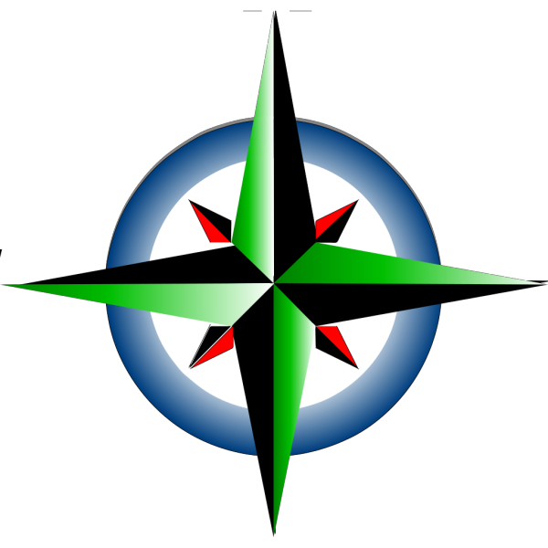 Blue Compass PNG images
