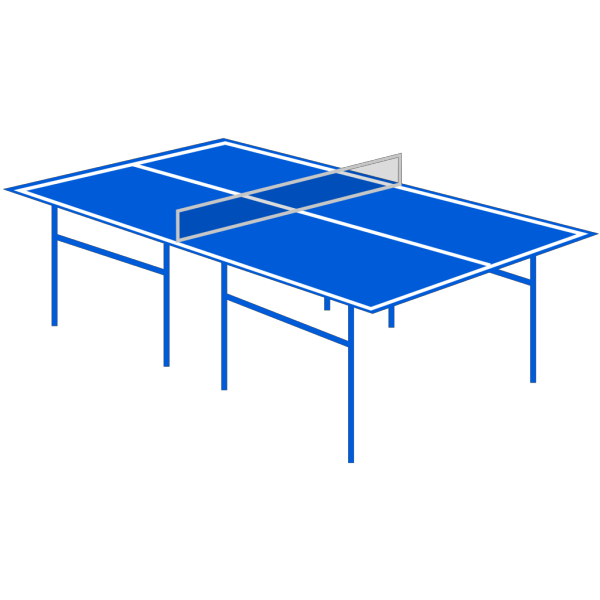 Table Tennis Table PNG images