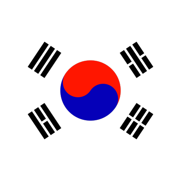 North South Korea Flag Map PNG Clip art