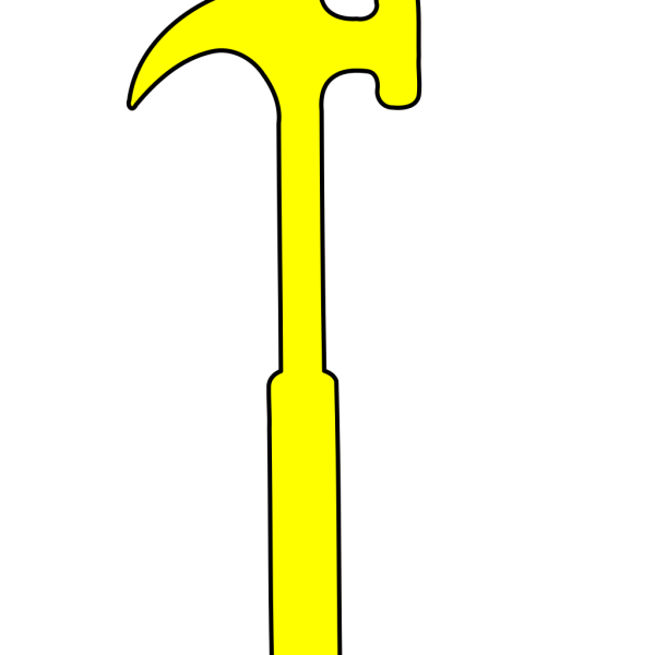 Hammer Silhouette PNG images