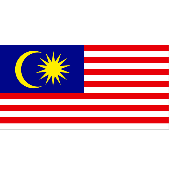 Flagmap Of Peninsular Malaysia PNG Clip art