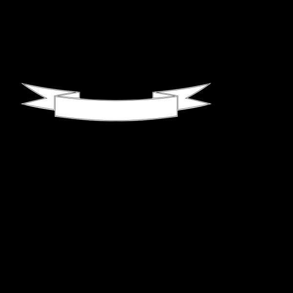White Banner Flag PNG Clip art