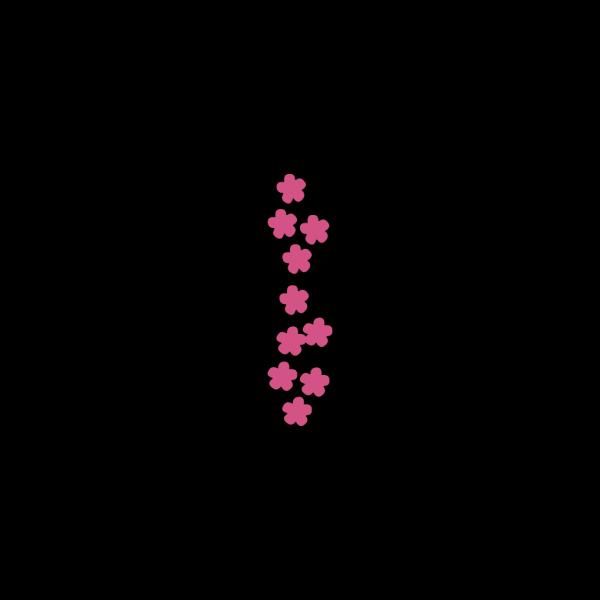 Flower Map Symbols 11 PNG Clip art
