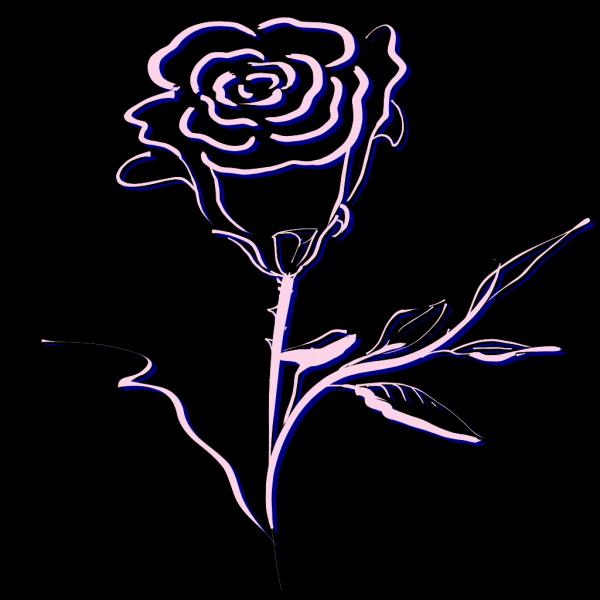 Pink Rose PNG Clip art