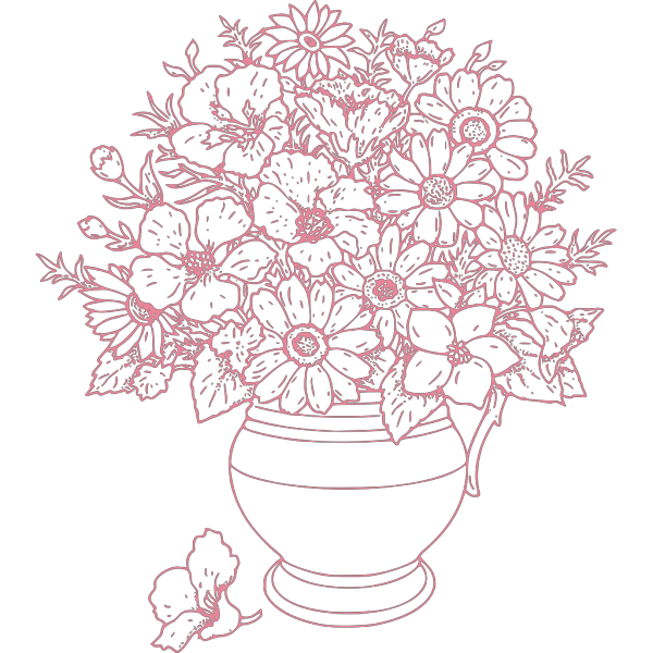 Bouquet Of Flowers PNG Clip art