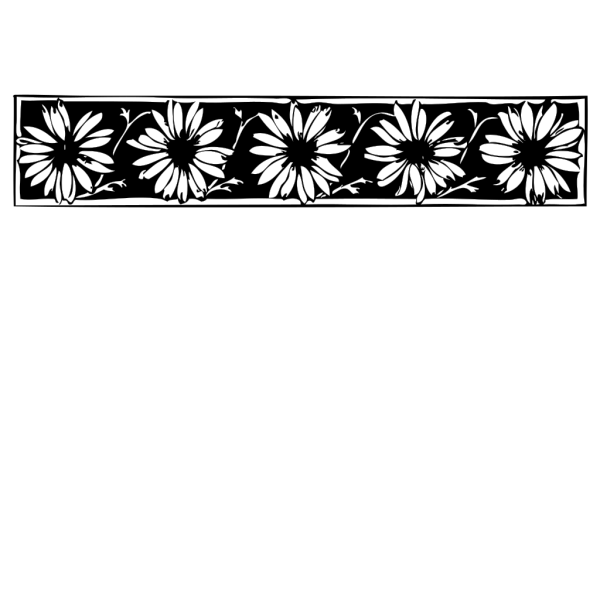 Daisy Border PNG icons