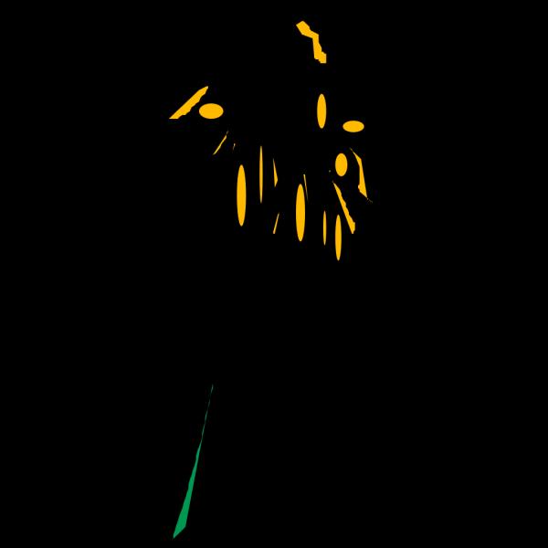 Flower Rudbeckia PNG Clip art