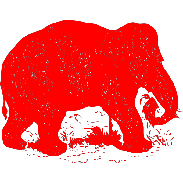 Elephant Drawing PNG images