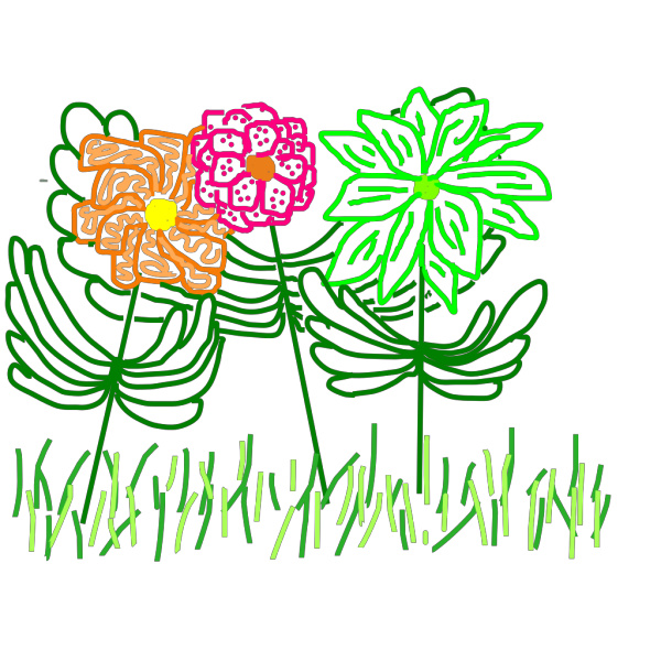 Spring Flowers PNG Clip art