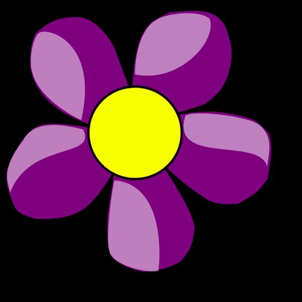 Purple Flowers  PNG Clip art