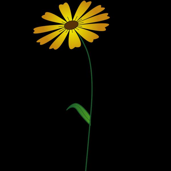 Yellow Flower PNG Clip art