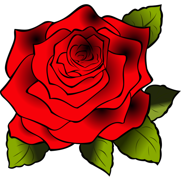 Red Rose PNG Clip art