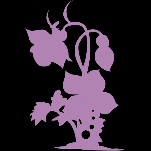 Plant Sillhouette PNG Clip art