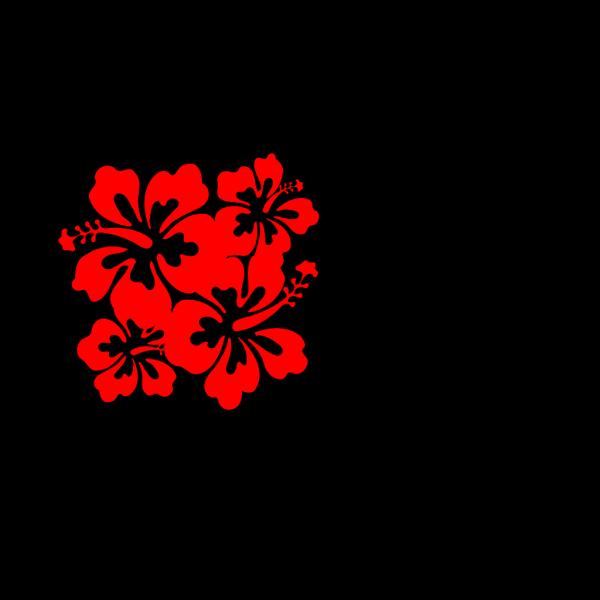 Hibiscus Remixed PNG Clip art