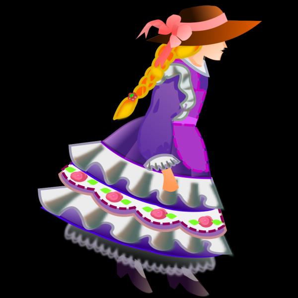 Flower Girl PNG Clip art