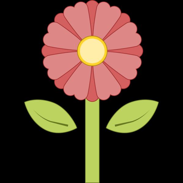 Pink Flower 15 PNG Clip art