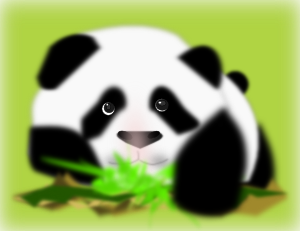 Panda 3 PNG images