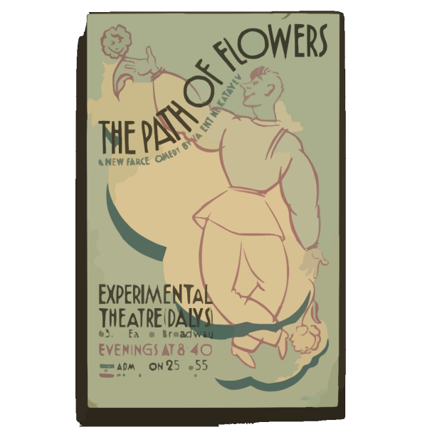The Path Of Flowers  A New Farce-comedy By Valentine Katayev. PNG images