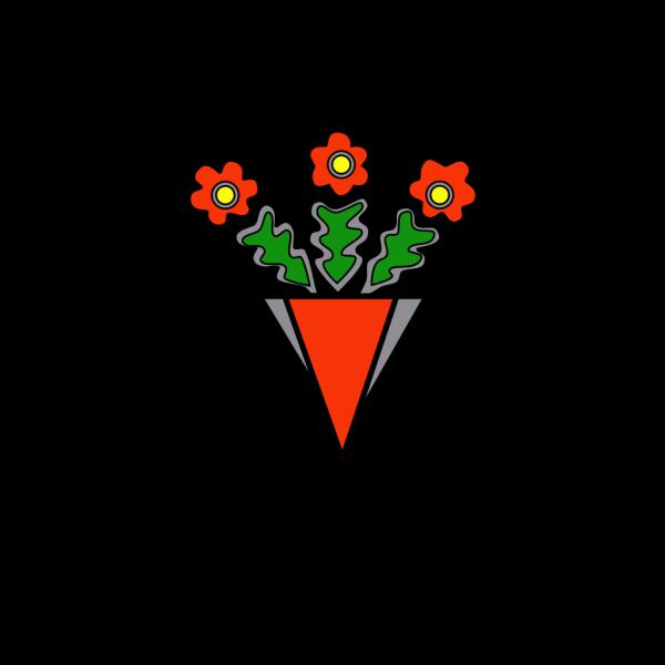 Bag Of Flowers PNG Clip art