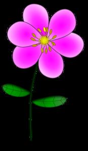 Purple Flower 8 PNG Clip art