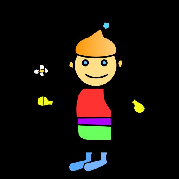 Flower Boy PNG Clip art