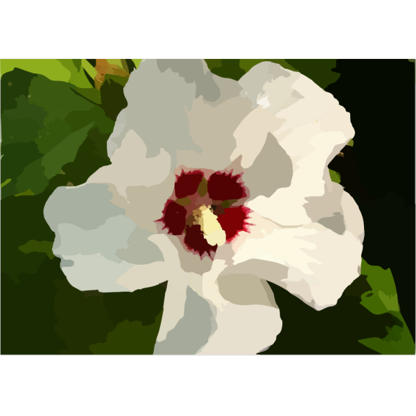 Roseofsharon PNG Clip art