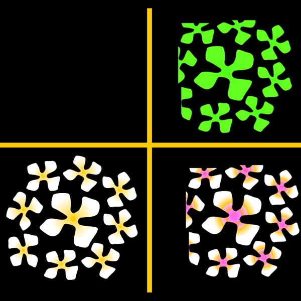 Cross Decoration Flowers PNG Clip art