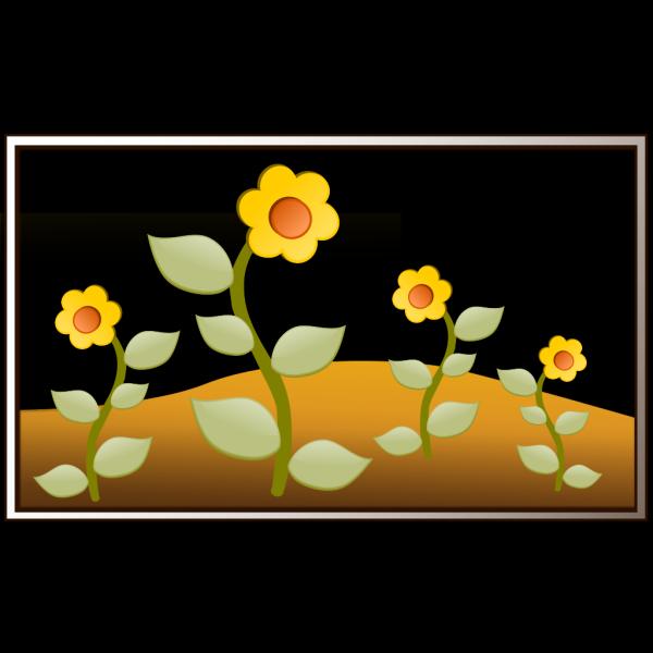 Flowers In Garden PNG Clip art