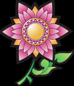Pink Flower Decoration PNG Clip art