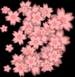 Asian Flower Design PNG Clip art