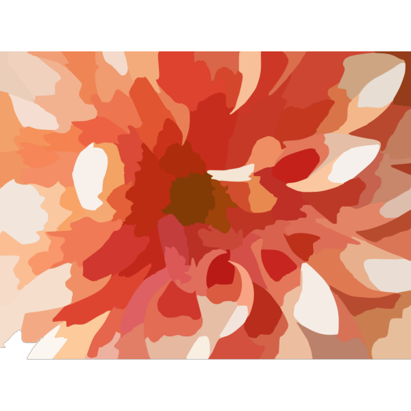 Abstract Flower PNG Clip art