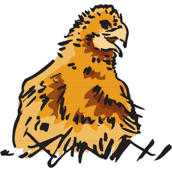 Fuzzy Chick PNG Clip art