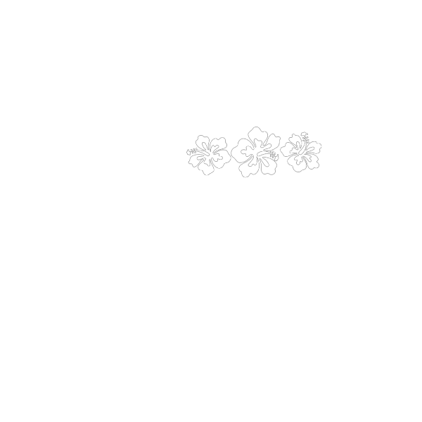 Hibiscus White PNG Clip art