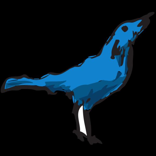 Blue Bird Art PNG Clip art