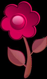 Pink Flower Cute PNG Clip art