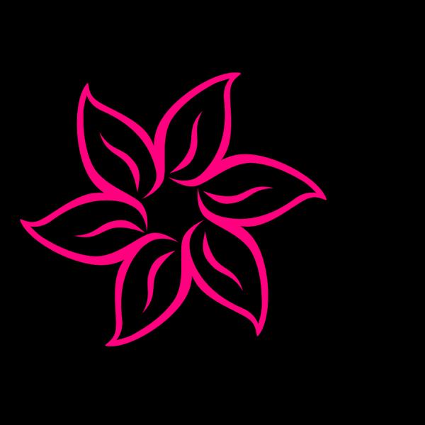 Magenta Flower Image PNG Clip art