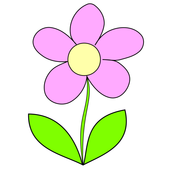Purple Flower 7 PNG Clip art