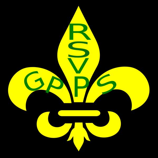 Senior Corps Fleur De Lis PNG Clip art