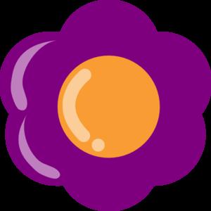 Purple Flower 13 PNG Clip art
