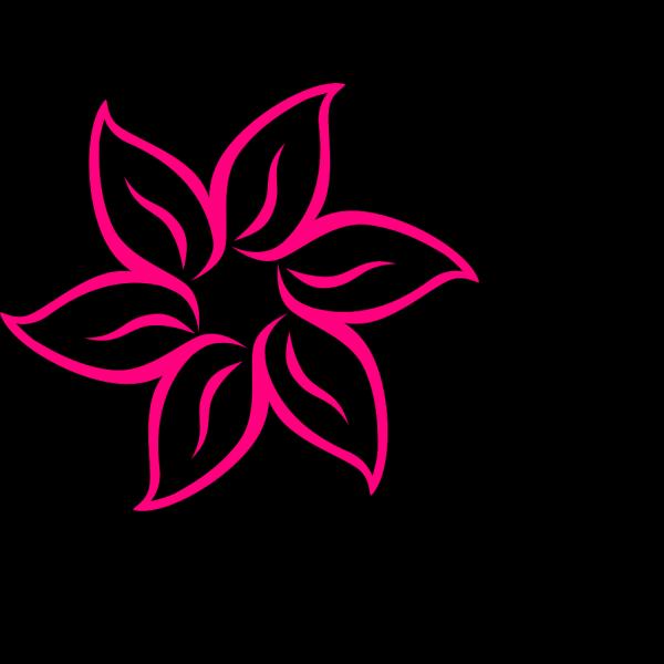 Pink Flower 1 PNG Clip art